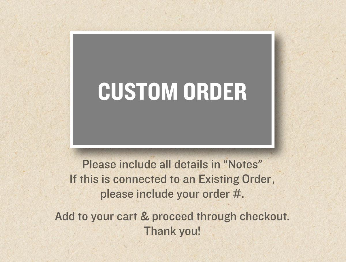 Custom Order $273